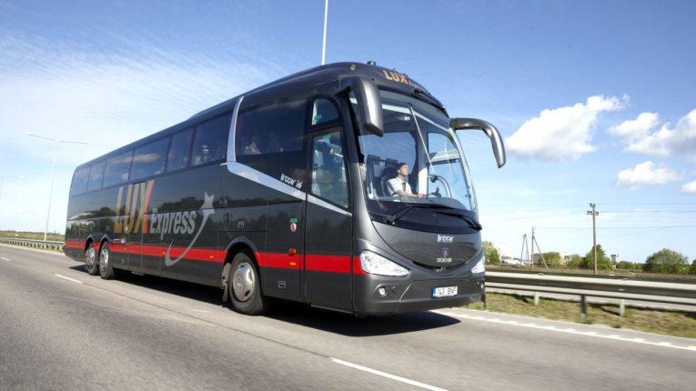 автобус Lux Express