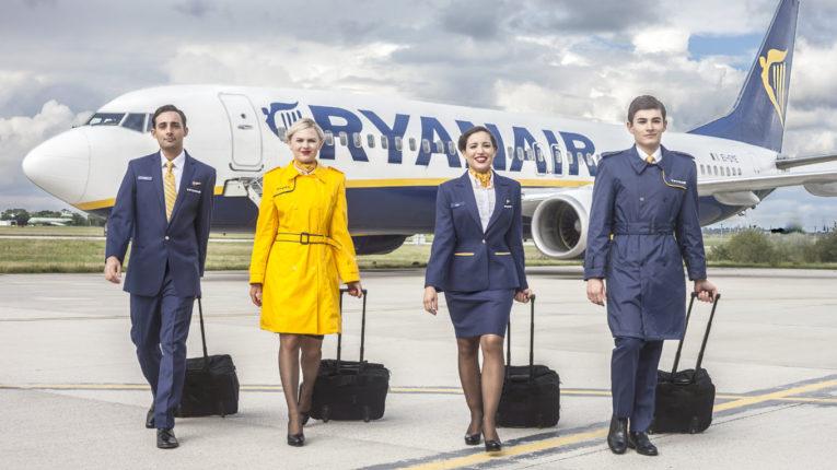 Экипаж самолета Ryanair