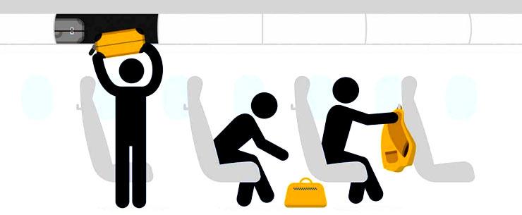ручная кладь на Lufthansa