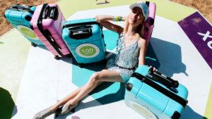 Пассажиры s7 могут измерить чемоданы с помощью iPhone
