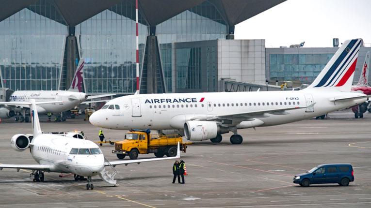 Air France ручная кладь