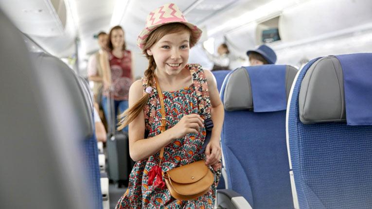 детское питание в самолете