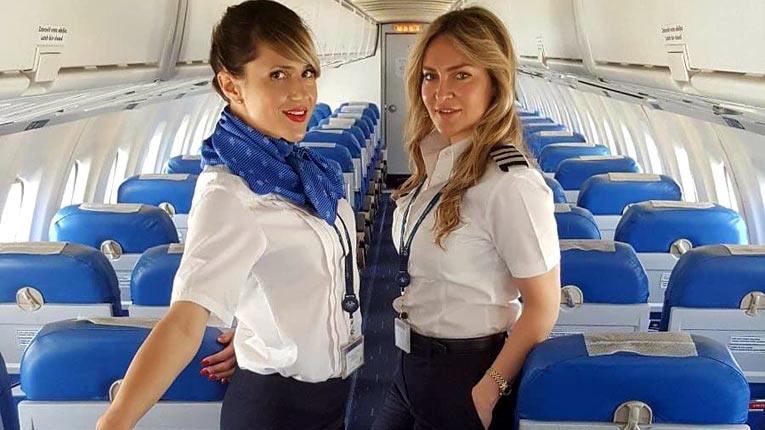 Air Serbia ручная кладь