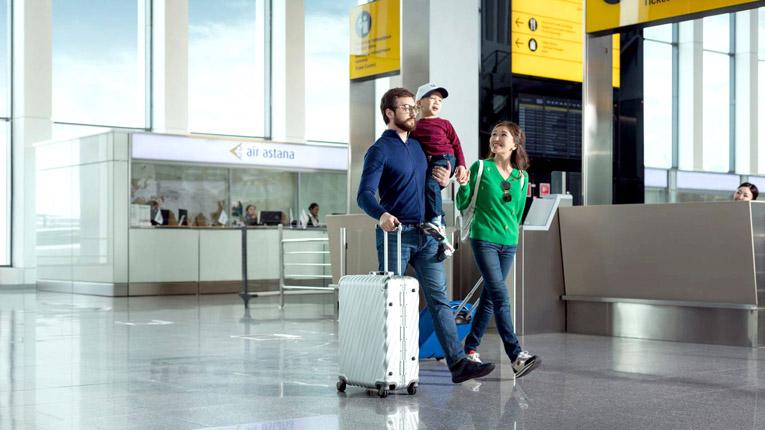 Air Astana багаж