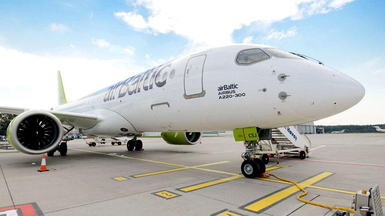 багаж на AirBaltic