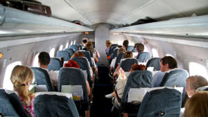 В салоне самолета Вологодское авиапредприятие